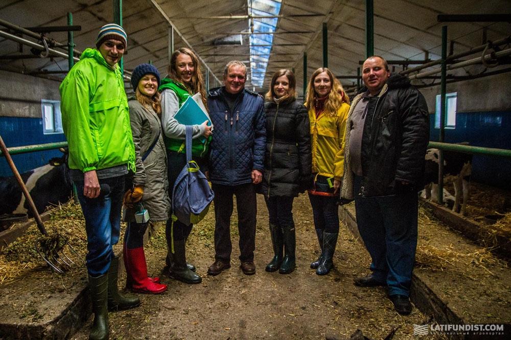 АгроЭкспедиторы на молочной ферме СПК «Овсяницкий»